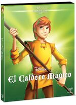 The Black Cauldron DVD Mexico