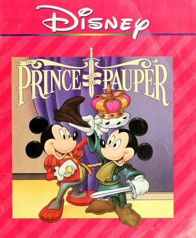 File:The Prince and the Pauper Disney Read-Along.JPG