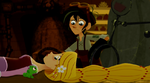 Varian untersucht Rapunzel