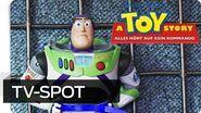 A TOY STORY- ALLES HÖRT AUF KEIN KOMMANDO - Super Bowl Spot - Disney HD