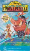 Around the World with Timon & Pumbaa 1996 AUS VHS