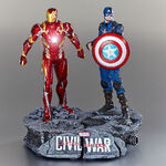 Captain America and Iron Man Limited Edition Figure Set