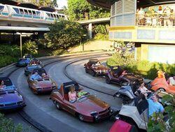 Disneyland's Autopia