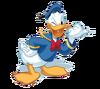 Donald Duck transparent