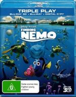 Finding Nemo 2016 AUS Blu Ray 3D + Blu Ray + Digital