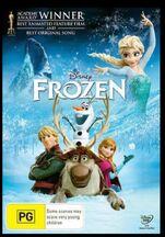 Frozen 2014 AUS DVD