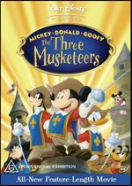 Mickey, Donald, Goofy The Three Musketeers 2004 AUS DVD First