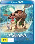 Moana 2017 AUS Blu Ray 3D