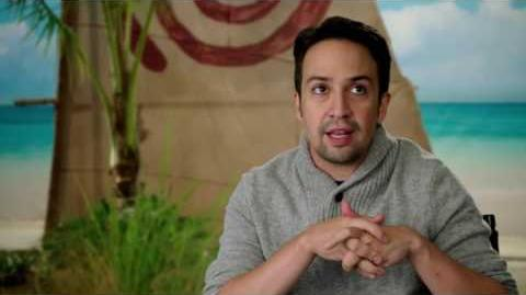 Moana On Set Interview - Lin-Manuel Miranda
