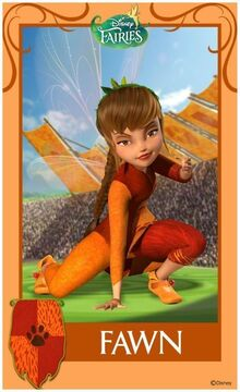 Pixie-Hollow-Games-Trading-Cards-Fawn