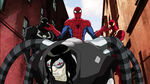 Ultimate Spider-Man - 4x01 - Hydra Attacks, Part 1 - Agent Venom, Dock Ock, Spider-Man and Iron Spider