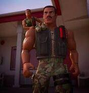 Combat carl jr