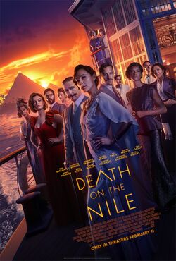 Death on the Nile (2020 film) official poster