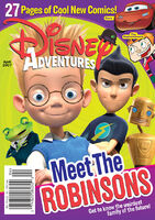Disney Adventures Magazine cover April 2007 Meet the Robinsons