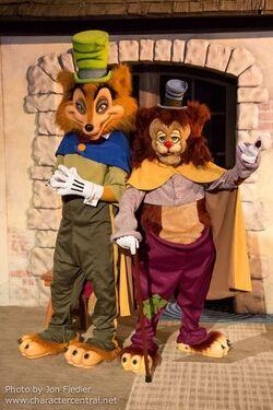 João Honesto e Gideão dos Parques da Disney