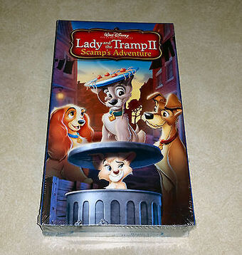 Lady And The Tramp Ii Scamp S Adventure Video Disney Wiki Fandom