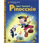 Pinocchio Little Golden Book