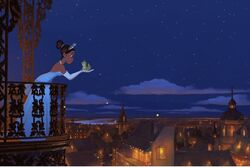 Princess and the frog movie teaser