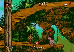 The Jungle Book Genesis Gameplay