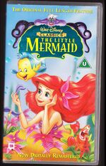 The Little Mermaid 1998 UK VHS