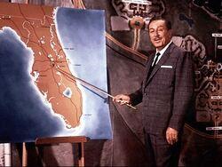 Walt disney florida map