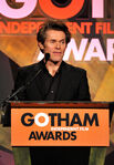 Willem Dafoe speaks at Gotham Awards