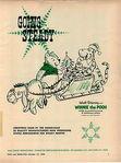 1966 ADVERT Walt Disney Winnie The Pooh Character Merchandising Cadaco Bas Bal
