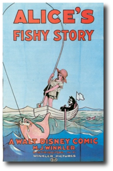 Alices fishy story poster