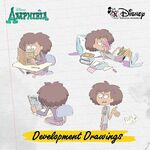 Amphibia development drawings - Anne 2