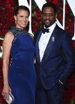 Blair Underwood and wife Desiree DaCosta atTony Awards