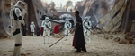 Chirrut Îmwe prepares to fight Stormtroopers