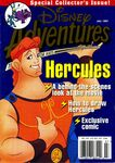 Disney adventures july 1997 cover hercules
