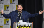 Greg Grunberg speaks at SDCC