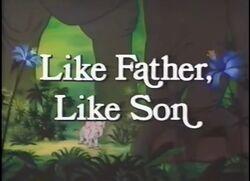 Like father like son title