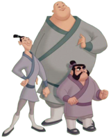 Yao, Ling y Chien Po