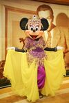 Minnie as a Belly Dancer