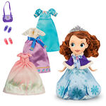 Sofia the First Disney Store Doll with 4 Outfits