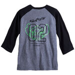 Stitch Neff Men's Raglan Love Sleeve Tee (back)