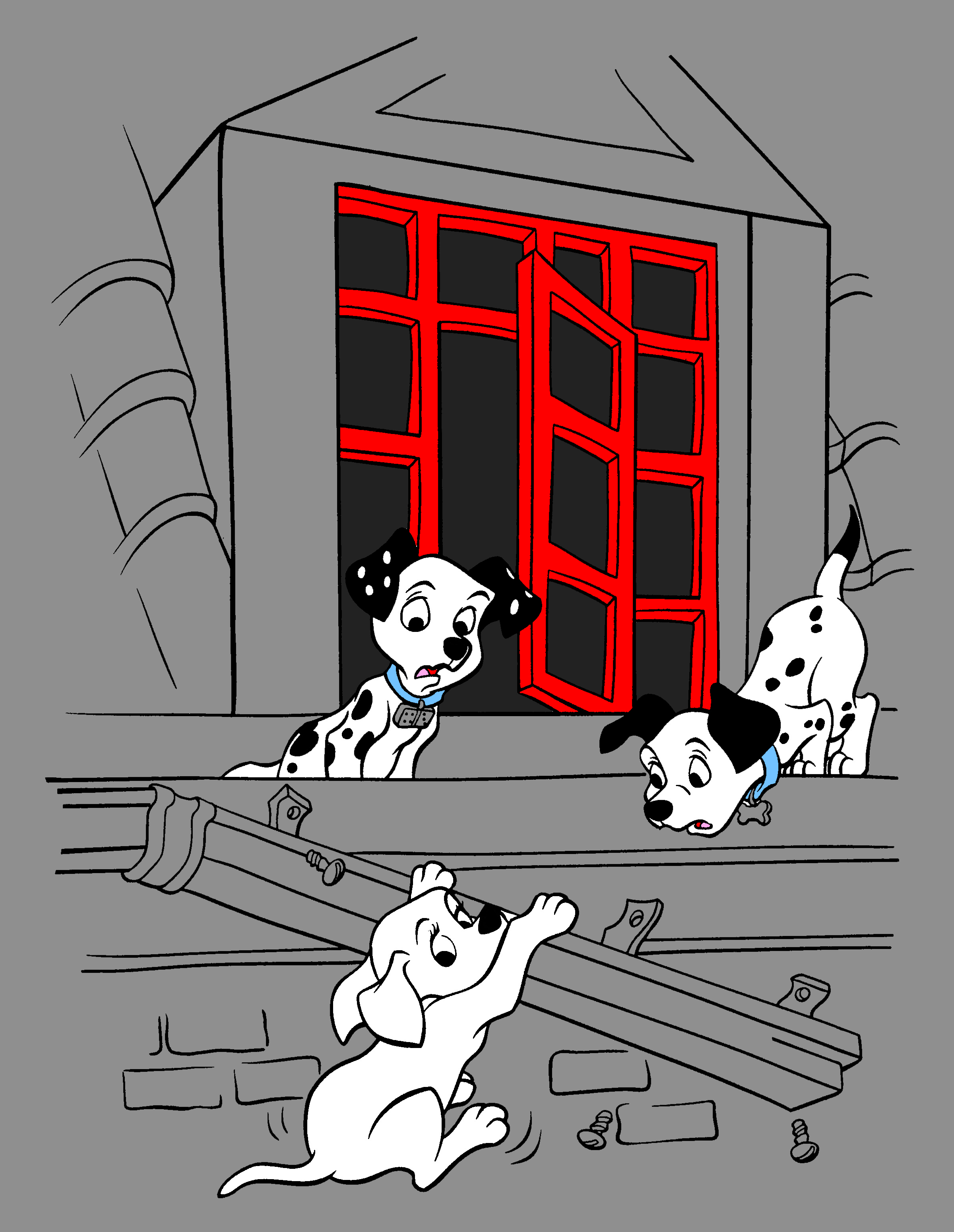 102 Dalmatians Coloring Pages 24