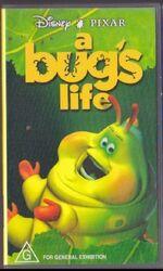 A Bug's Life 1999 Heimlich AUS VHS