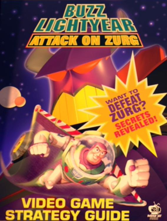 Buzz Lightyear Attack On Zurg