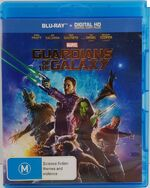 Guardians of the Galaxy 2014 AUS Blu Ray + Digital HD