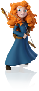 Merida Disney INFINITY render