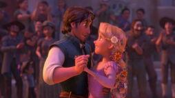 Rapunzel andEugenehold