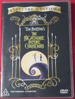 The Nightmare Before Christmas 2002 AUS DVD