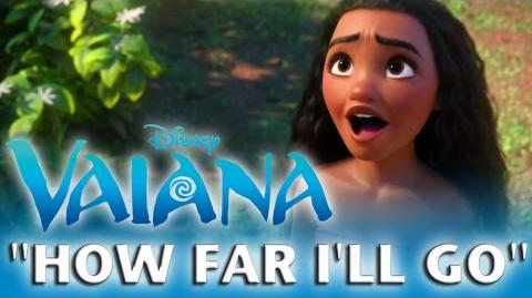 VAIANA How Far I'll Go ♪ Ich bin bereit - Special Edition in 24 Sprachen Disney HD