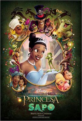 A Princesa e o Sapo - Pôster Nacional