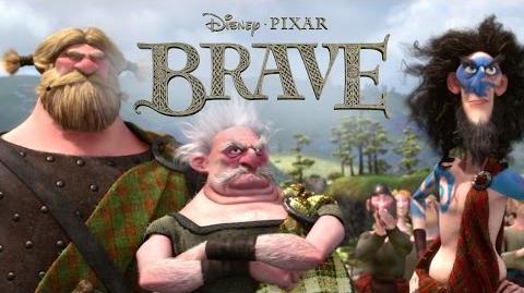 Brave Dirty Hairy People Disney Pixar