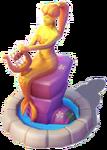D-mermaids statue