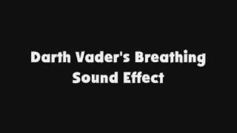 Darth Vader's Breathing SFX
